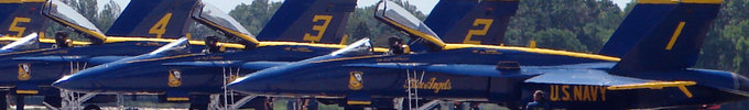 Blue Angels 1 through 6 Persona
