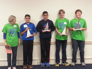 Math Counts 2014 SD State Champion Team